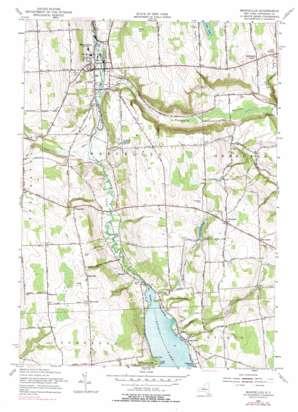 Marcellus topo map