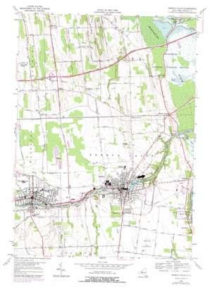 Seneca Falls USGS topographic map 42076h7