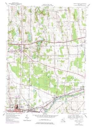 Geneva North topo map