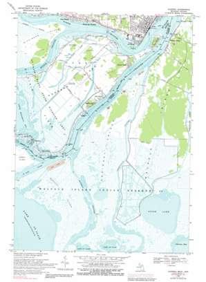 Algonac topo map