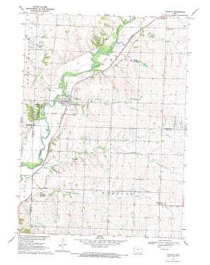 Washta topo map