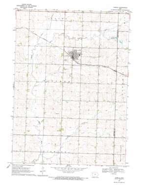 Aurelia topo map