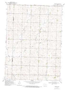 Fielding topo map