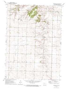 Peterson Se topo map