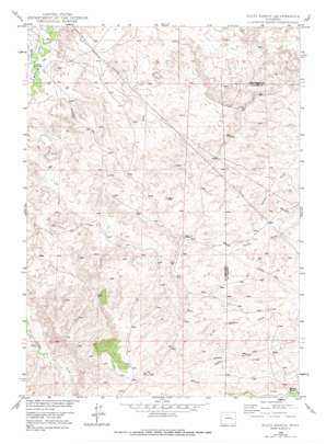 Dilts Ranch topo map