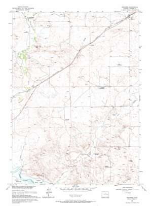 Shawnee topo map