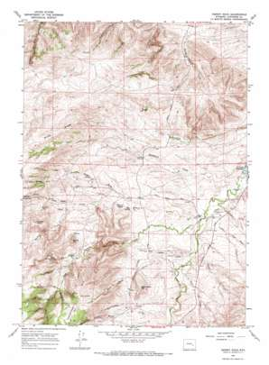 Hermit Rock topo map