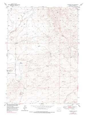 Glenrock Nw topo map