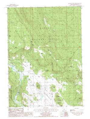 Buttes Of The Gods topo map