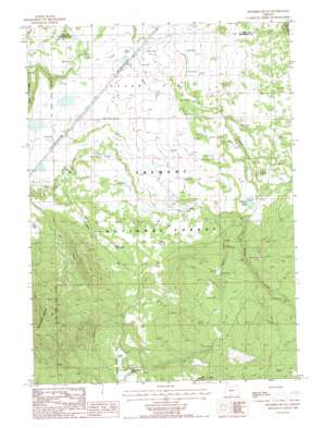 Riverbed Butte topo map