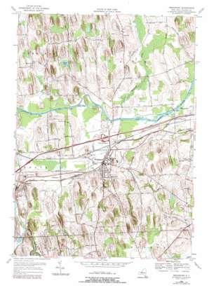 Weedsport topo map