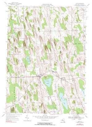 Cato topo map