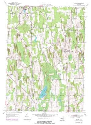 Victory topo map