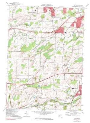 Clifton topo map