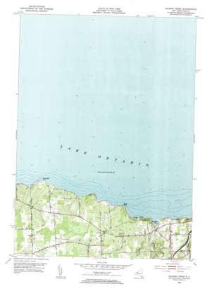 Salmon Creek topo map