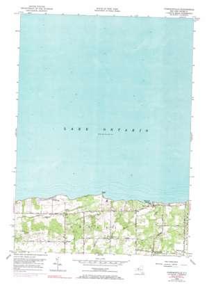 Furnaceville topo map