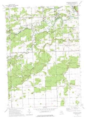 Gordonville topo map