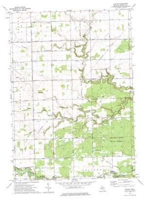 Leaton topo map