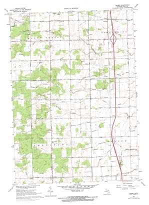 Crump topo map