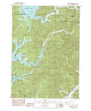Fivemile Creek topo map