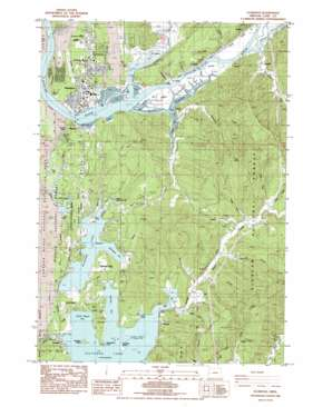 Florence topo map