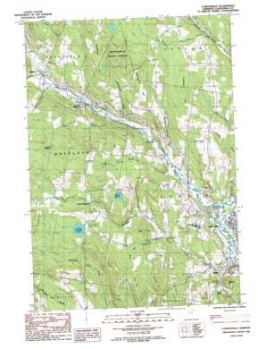 Mount Mansfield USGS topographic map 44072e1
