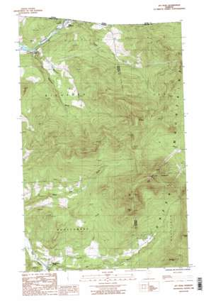Jay Peak topo map