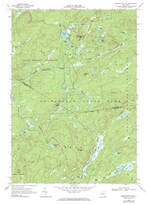Gouverneur USGS topographic map 44075a1