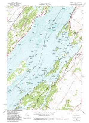 Chippewa Bay topo map