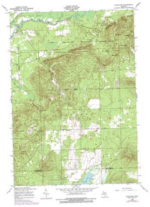 Fletcher topo map