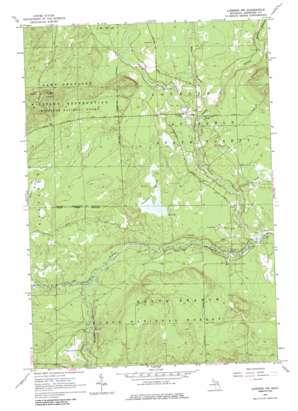 Luzerne Nw topo map