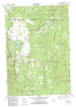 Lovells topo map