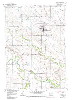 Newell topo map