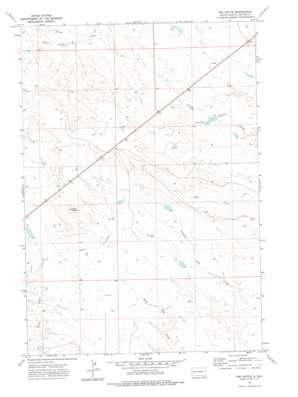 Owl Butte topo map
