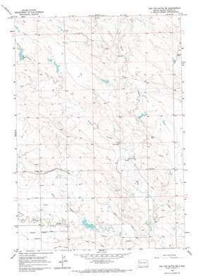 Two Top Butte Se topo map