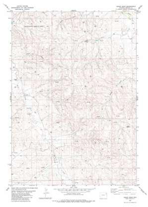 Cedar Draw topo map