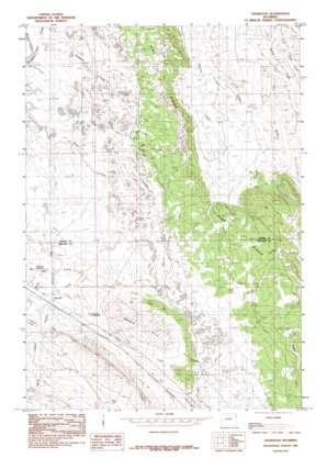 Thornton topo map