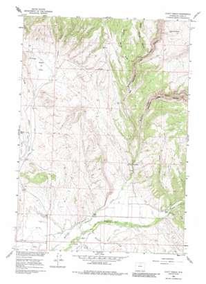 Hyatt Ranch topo map