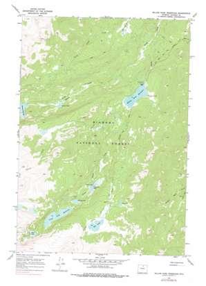 Willow Park Reservoir topo map