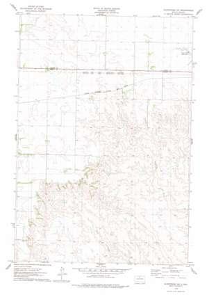 Glencross Ne topo map