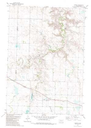 Lantry topo map