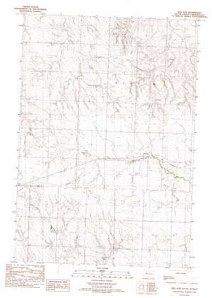 Red Elm topo map