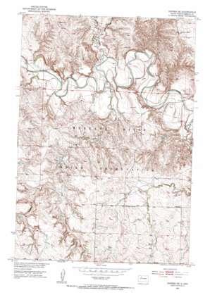 Dupree Ne topo map