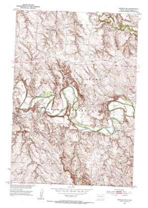 Redelm Ne topo map