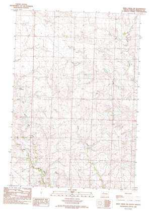 Irish Creek Sw topo map