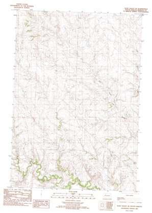 Glad Valley Se topo map