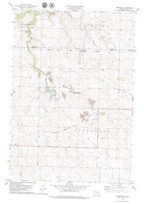 Firesteel topo map