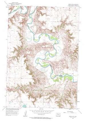 Miscol Ne USGS topographic map 45101f1