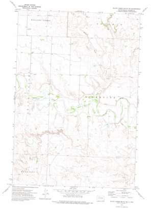 Black Horse Butte Ne topo map