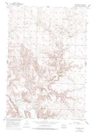 Bullhead topo map
